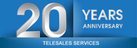 Telesales Services Anniversary